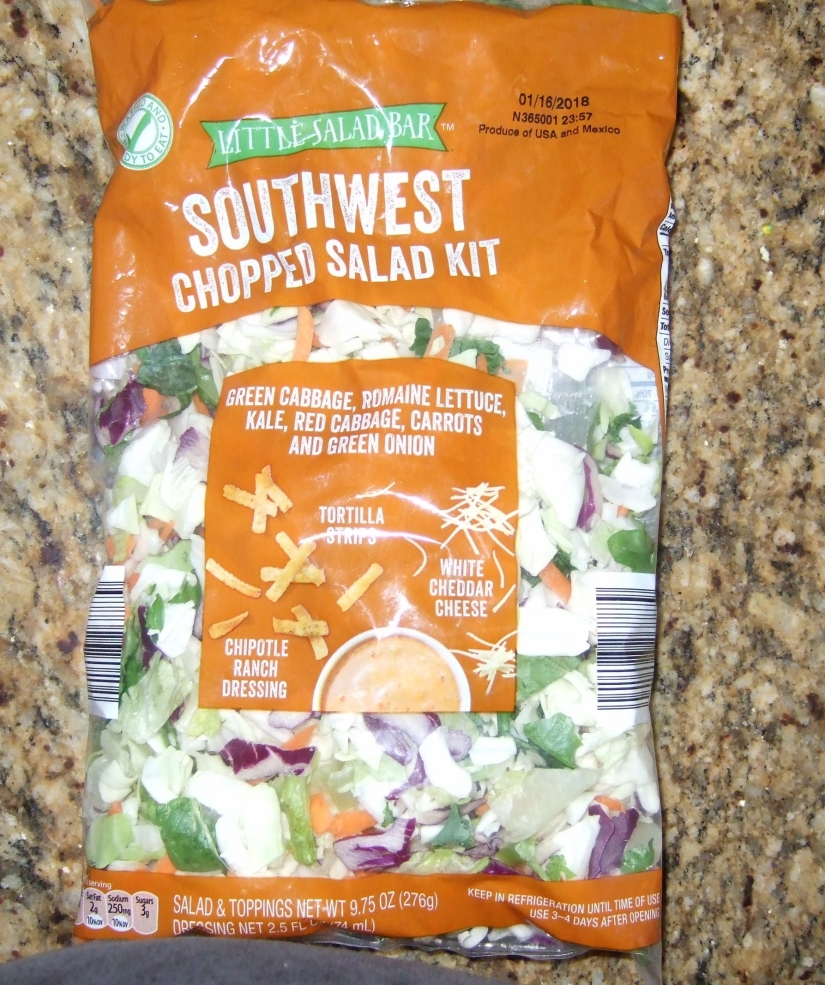 asian slaw mix from Aldi